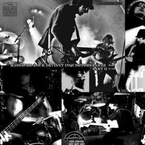 Gunslingers / Massacre-Rock Deviant Inquisitors (12″ Vinyl EP)
