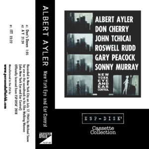 Albert Ayler / New York Eye And Ear Control (Tape)