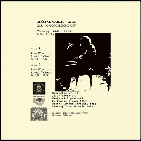 Hôpital De La Conception / The Electric Rockin' Chair (Vinyl LP)