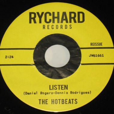 The Hotbeats - Listen / Injun (7
