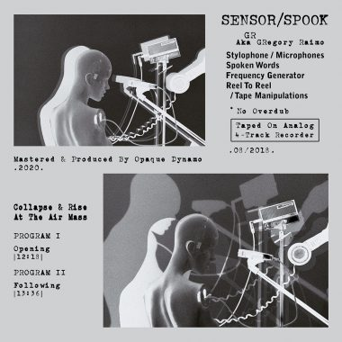 Sensor/Spook - Collapse & Rise At The Air Mass (Tape / Inside J-Card)