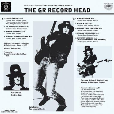 The GR Record Head (Vinyl LP)