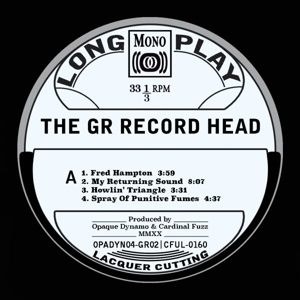 The GR Record Head (Vinyl LP)